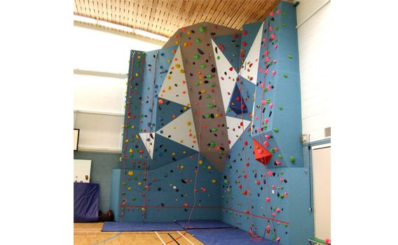 Grantown climbing wall