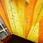 Seymour climbing wall 2