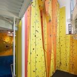 Seymour climbing wall 3