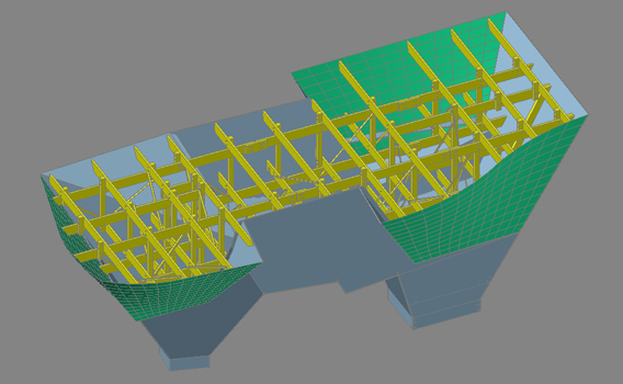climbing wall 3d structural modeling