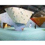 Big rock climbing wall 1