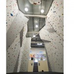 Big rock climbing wall 5