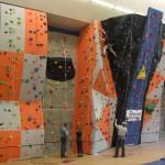 RAF Lossiemouth climbing wall 1