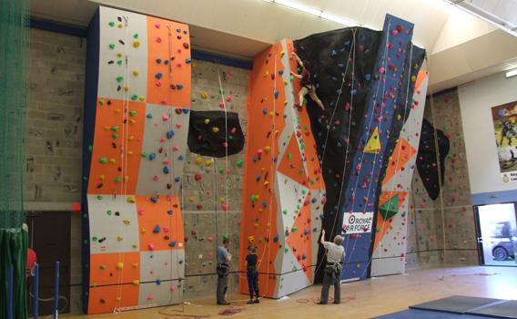 Climbing Wall Design » RAF Lossiemouth