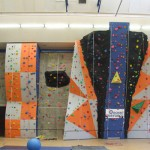 RAF Lossiemouth climbing wall 2