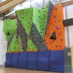 Featherstone climbing wall 1
