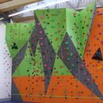 Featherstone climbing wall 2